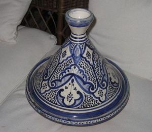 Image of a decorative tagine