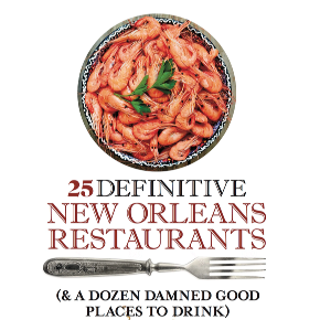 "Our ""25 Definitive New Orleans Restaurants"" eBook Giveaway Winner"