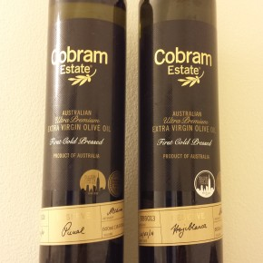 Product Review: Cobram Estate Ultra Premium Extra Virgin Olive Oil