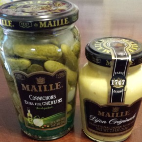 Product Review: Maille Cornichons