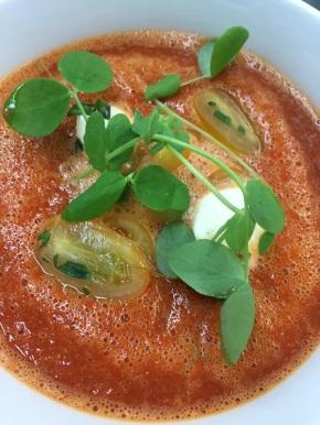 Chef Steve Lindner's Summertime TomatoGazpacho